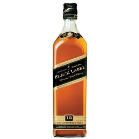 Johnnie Walker Black Label Scotch Whiskey ABV: 40%