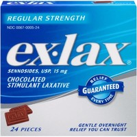 Ex-Lax Stimulant Laxatives 12 Pieces