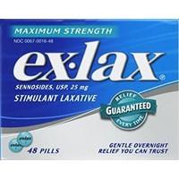 Ex-Lax Stimulant Laxative 8 pills