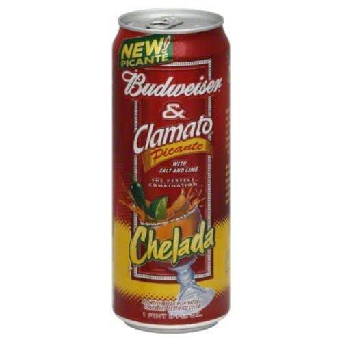 Budweiser & Clamato ABV: 5%