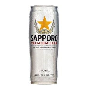 Sapporo Premium Regular ABV: 5% Can 22 fl oz