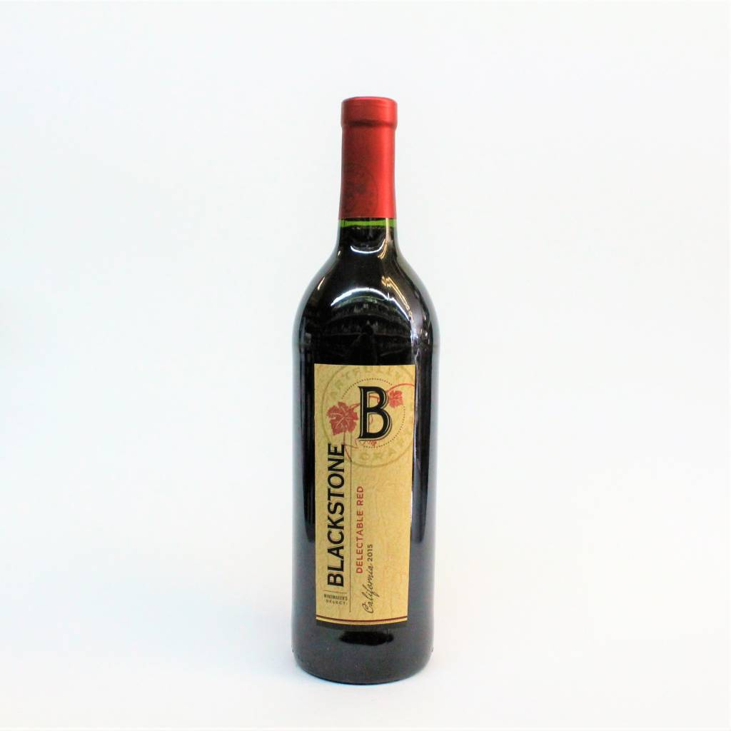 Blackstone 2015 Delectable Red ABV: 13.5% 750 mL