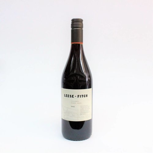 Leese-Fitch 2018 Pinot Noir ABV: 13.5% 750 mL