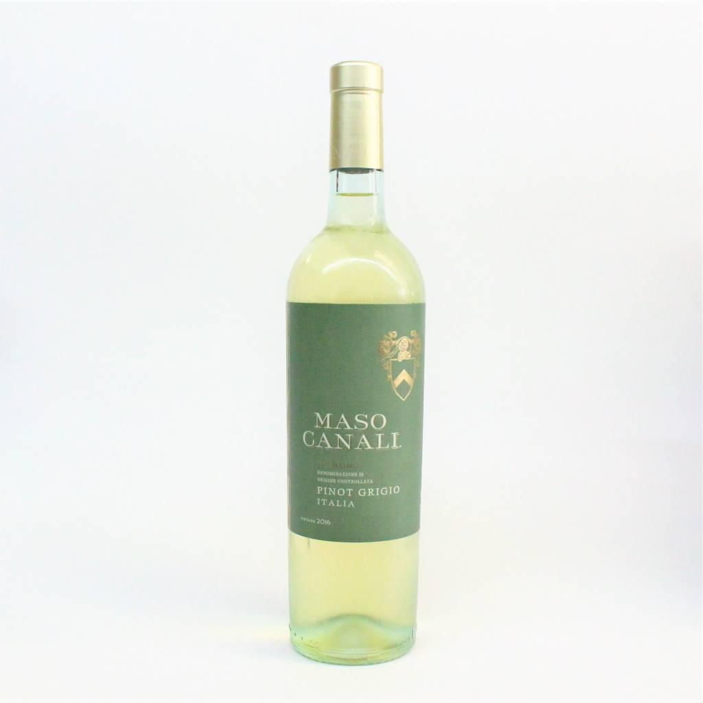 Maso Canali 2016 Pinot Grigio ABV: 12.5% 750 mL