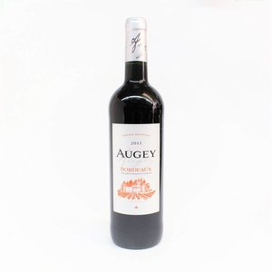 Augey 2015 Red Bordeaux ABV: 12.5% 750 mL