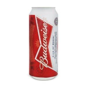 Budweiser Regular ABV: 5% Can 25 fl oz