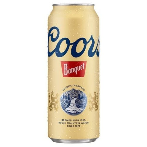 Coors Banquet ABV: 5% Can 24 fl oz