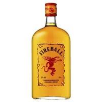 Fireball Cinnamon Whiskey ABV: 33%