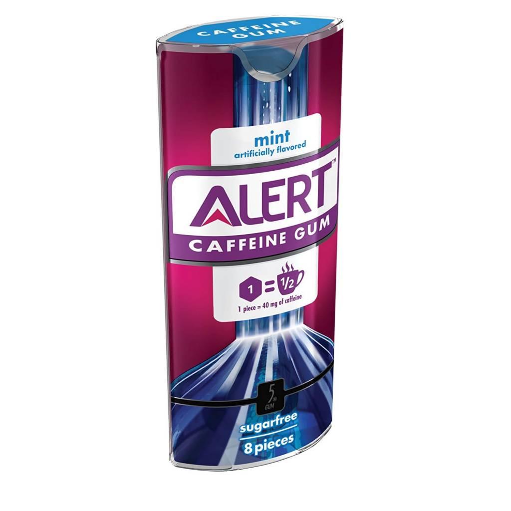 Alert Caffeine Gum Mint