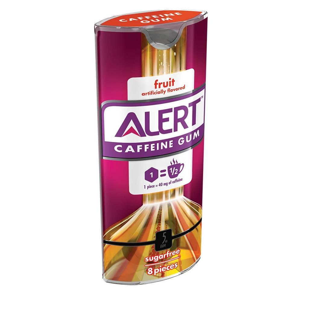 Alert Caffeine Gum Fruit