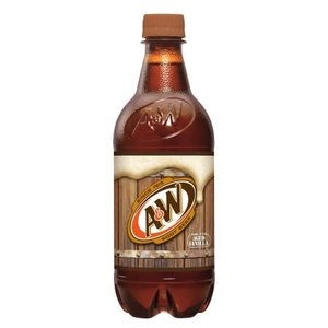 A&W Root Beer Regular 20 fl oz