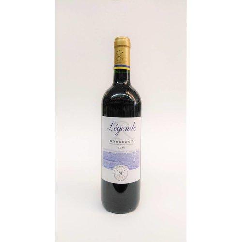 Rothschild Legende 2016 Bordeaux ABV: 12.5% 750 mL