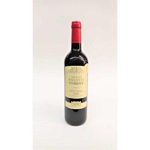 Chateau Bellevue Peycharneau 2014 Bordeaux Red ABV: 13.5% 750 mL