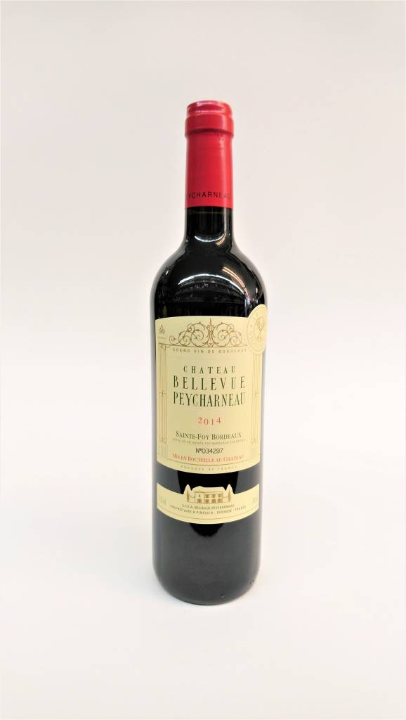 Chateau Bellevue Peycharneau 2014 Bordeaux Red ABV: 13.5% 750 mL