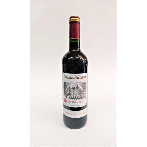 Village La Tourelle 2014 Bordeaux Cabernet Sauvignon ABV: 12.5% 750 mL