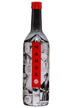Manga Junmai Sake ABV: 13% 750 mL