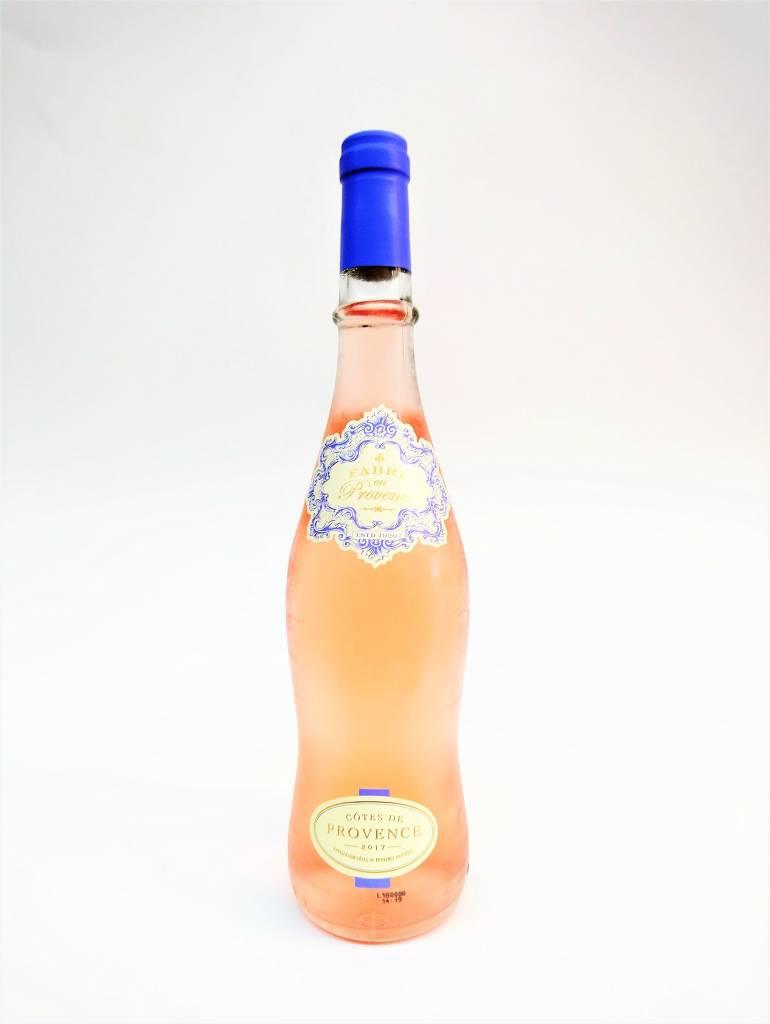 Fabre en Provence Cotes de Provence 2017 Rosé ABV: 13% 750 mL