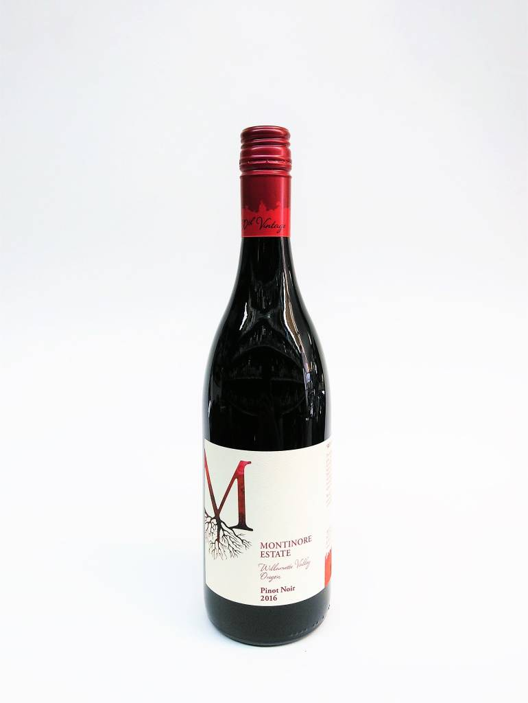 Montinore 2016 Pinot Noir ABV: 12% 750 mL