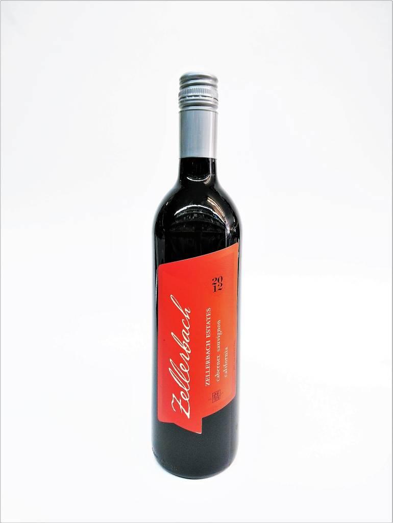 Zellerbach Estates 2012 Cabernet Sauvignon ABV: 14.5% 750 mL