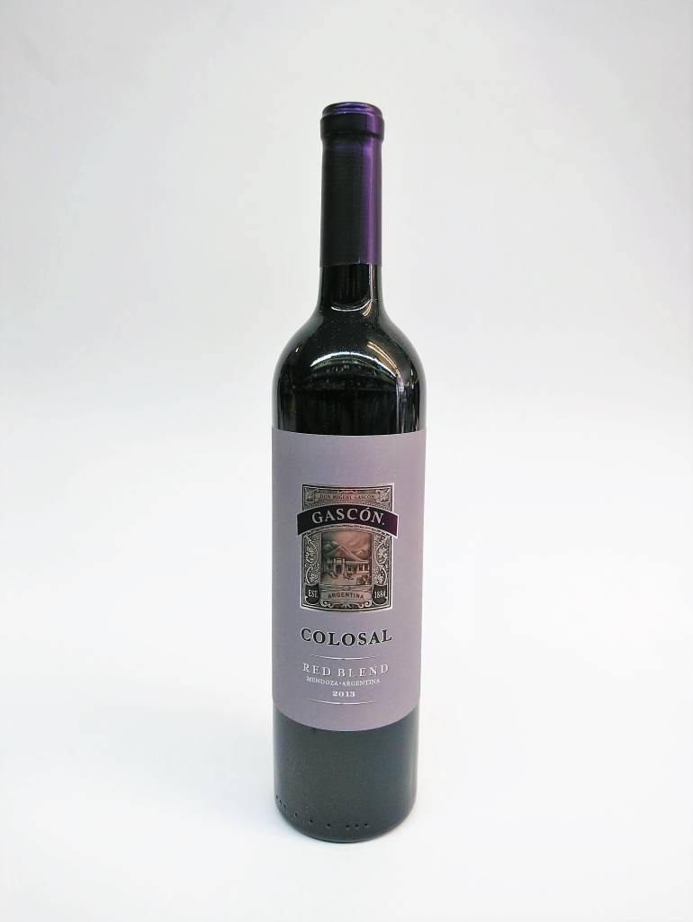 Gascon Colossal 2013 Red Blend ABV: 13.5% 750 mL