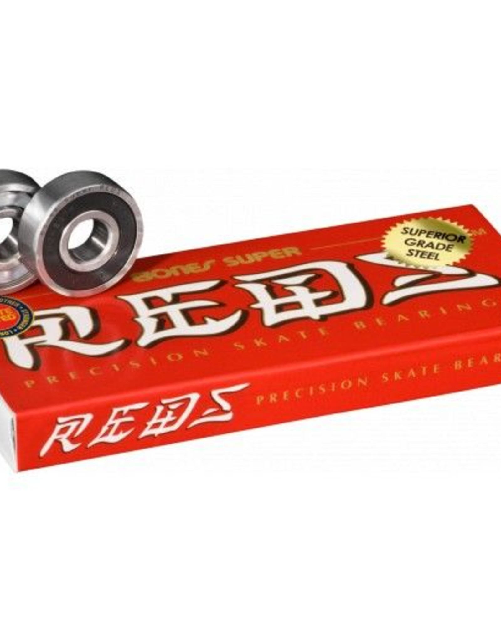 BONES BONES® SUPER REDS® SKATEBOARD BEARINGS 8 & 16 PACK