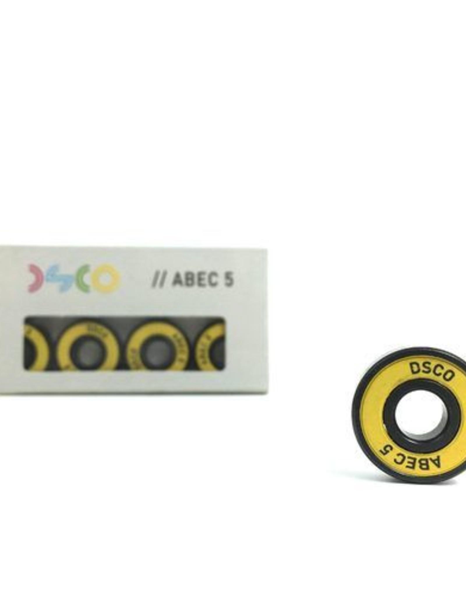 DSCO Bearings DSCO BEARINGS ABEC 5 CLOURED SHIELDS