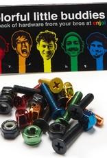 "Enjoi Enjoi Little Buddies Hardware - Coloured - 7/8"" Allen"