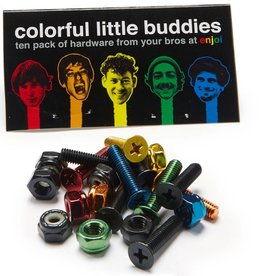 "Enjoi Enjoi Little Buddies Hardware - Coloured - 7/8"" Allen"