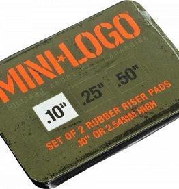 """Mini Logo MINI LOGO .10"""", .25"""" & .50"""" RISER (2 PACK)"""