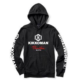 PRIMITIVE KIKKOMAN SAUCE HOOD Black & White