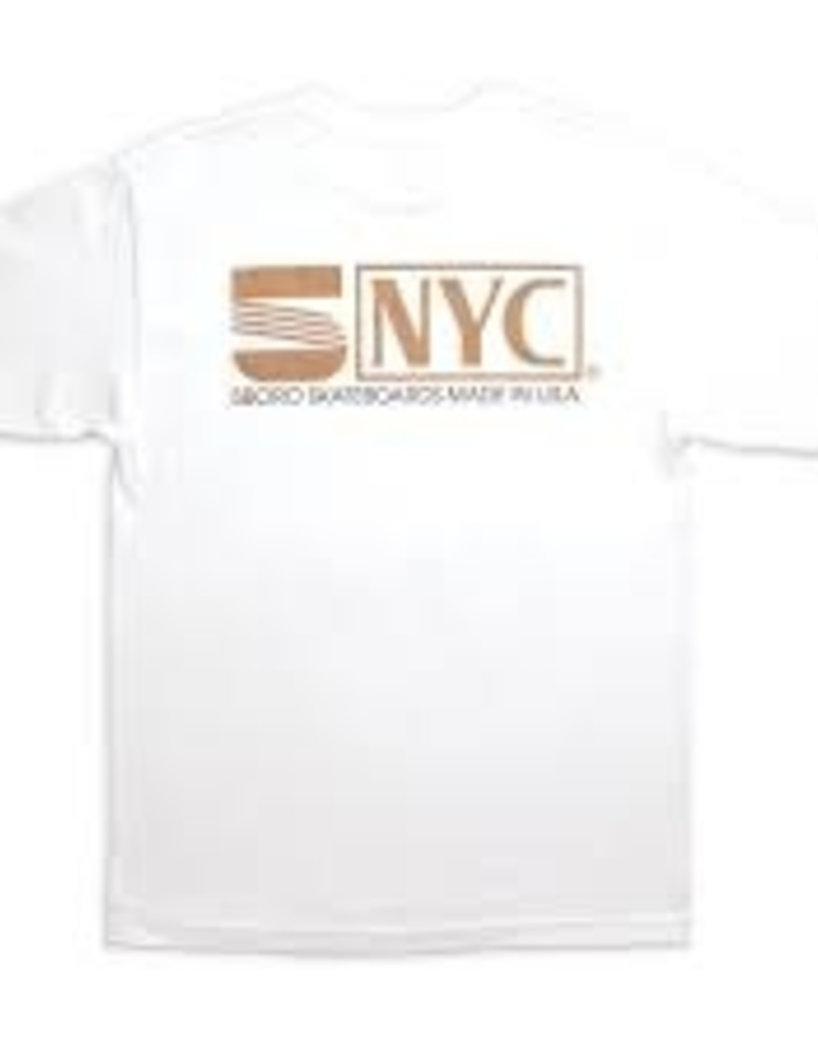5 BORO NYC 5B VHS Tee (XL) White