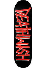 Deathwish Skateboards Deathwish Deck- Team OG Deathspray Red 8.475