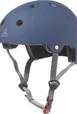 Triple 8 Certified Helmet SS Blue Rubber Small/Medium