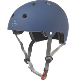 Triple 8 Certified Helmet SS Blue Rubber Small/Medium