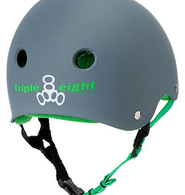 Triple 8 Skate Helmet SS Carbon Rubber Small