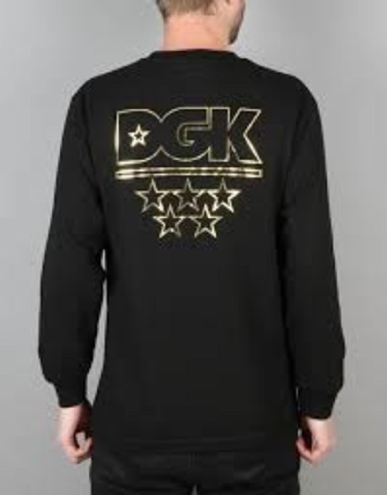 DGK DGK LS All Stars Tee Black