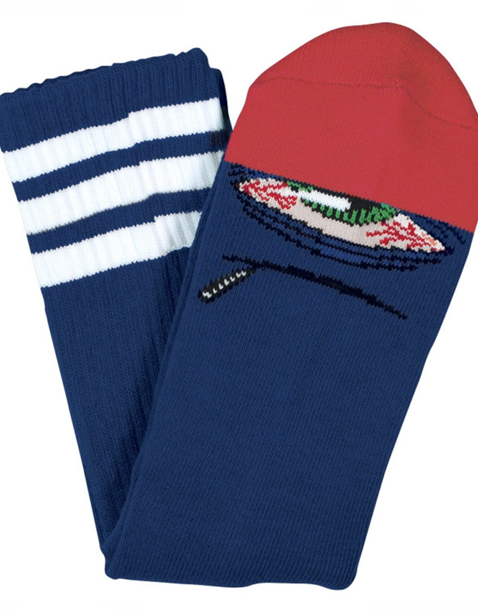 Toy Machine TM STONER SECT SOCK(BLUE)