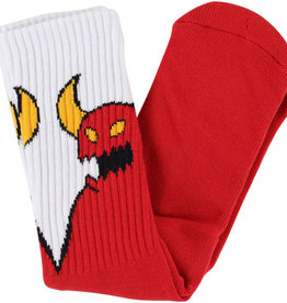 Toy Machine TM SKETCHY MONSTER SOCK(RED)