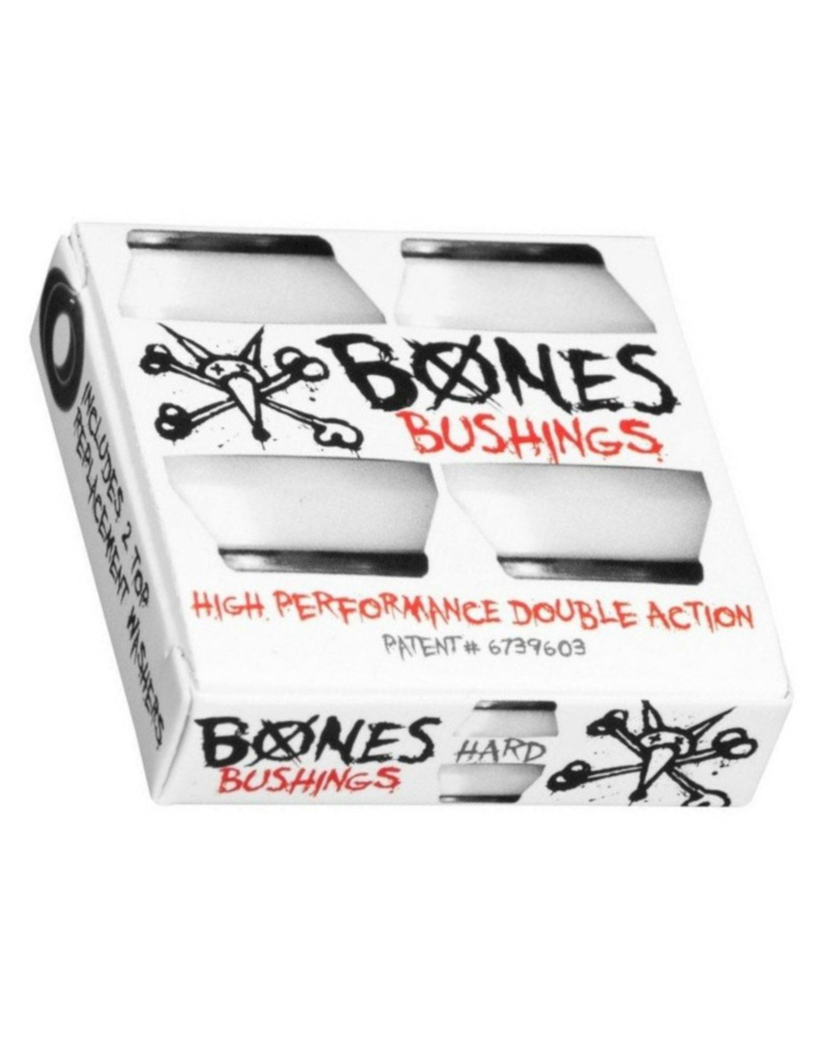 BONES BONES TRUCK BUSHINGS - White Or Black - Hard Medium & Soft