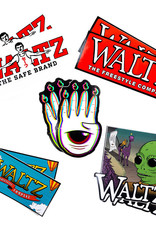 WALTZ SKATEBOARDING WALTZ Super Sticker Pack