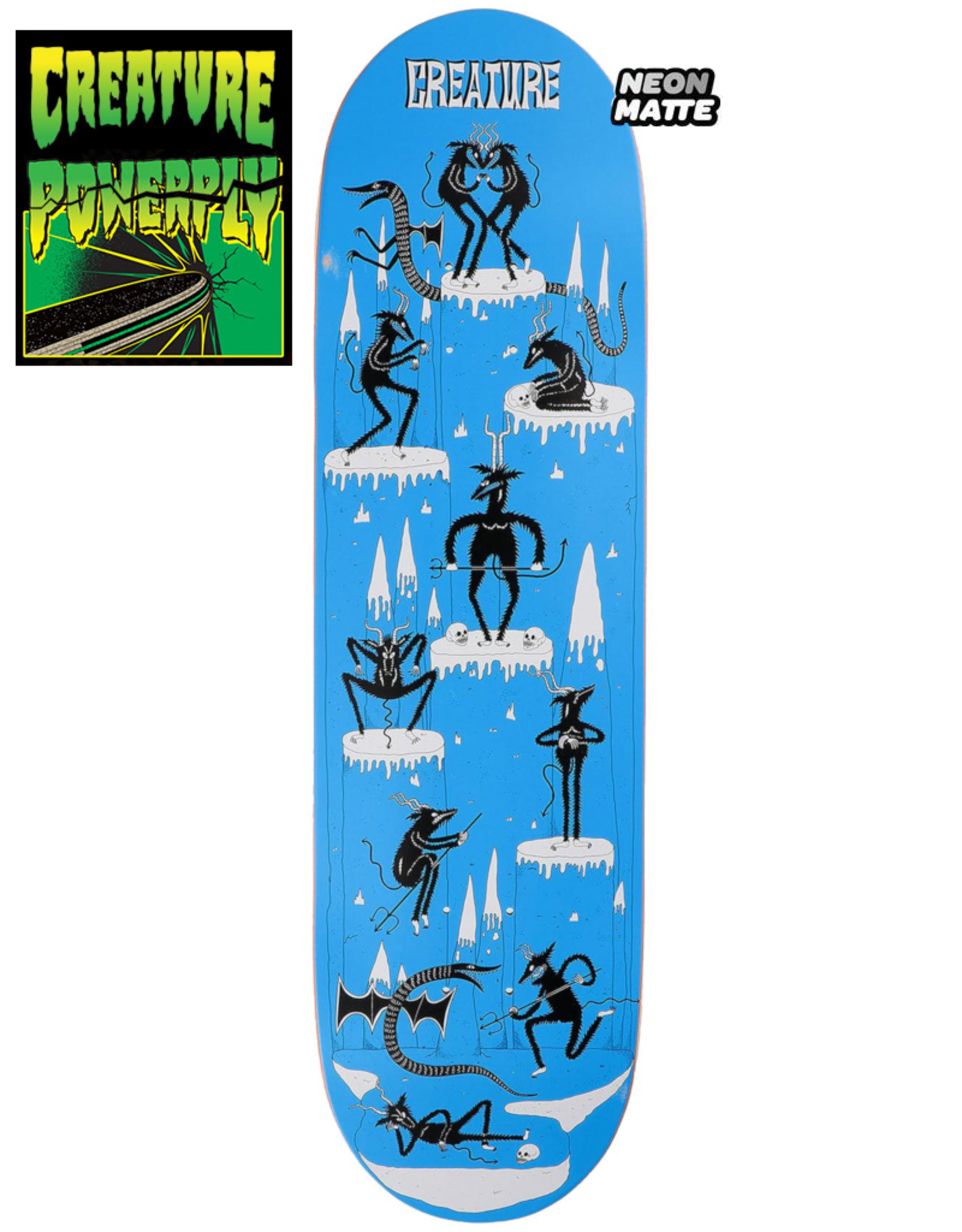 "Creature CREATURE FREE FOR ALL 8.5"" DECK"