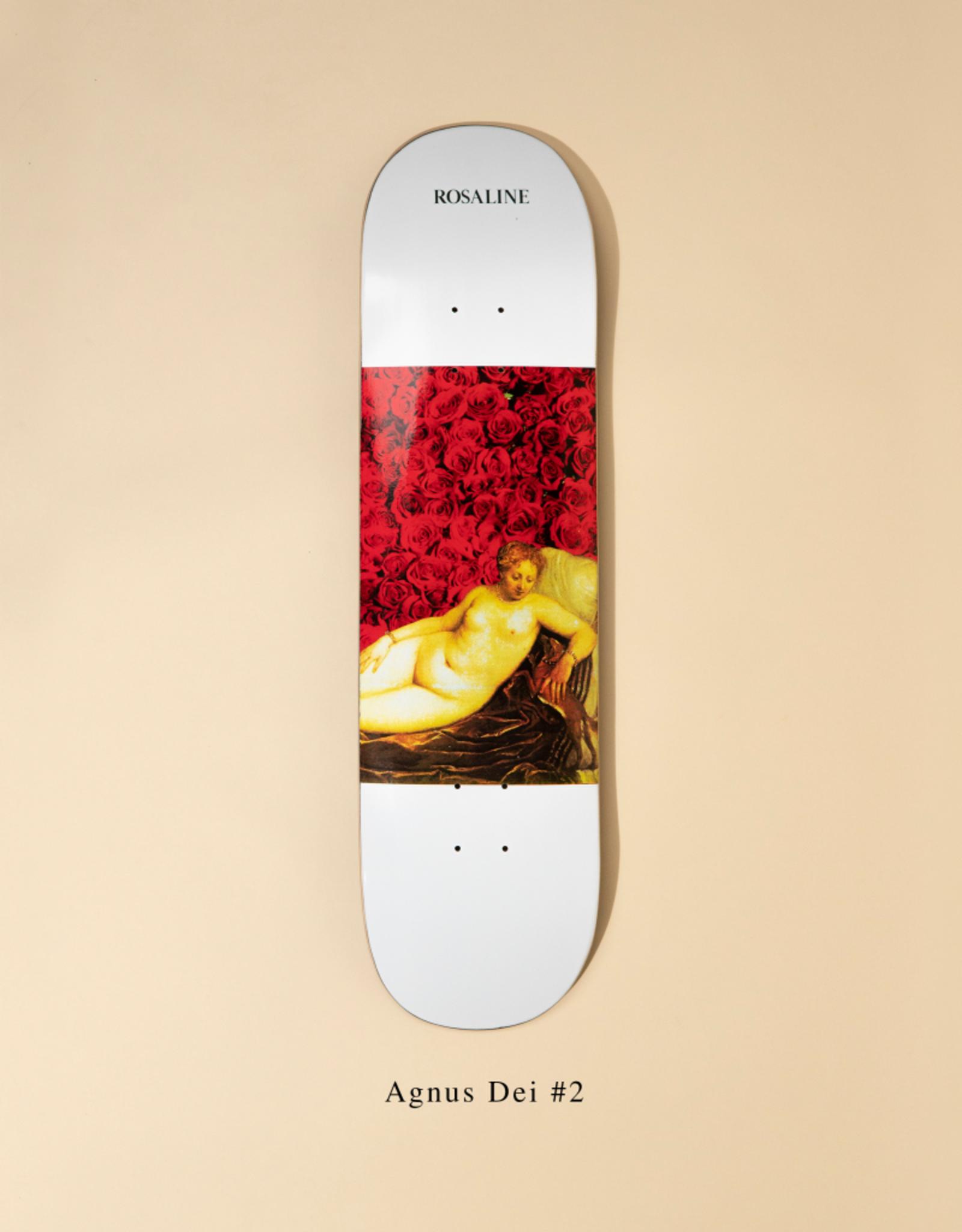 "ROSALINE Rosaline Agnus Dei #2 8.25"" Skateboard Deck"