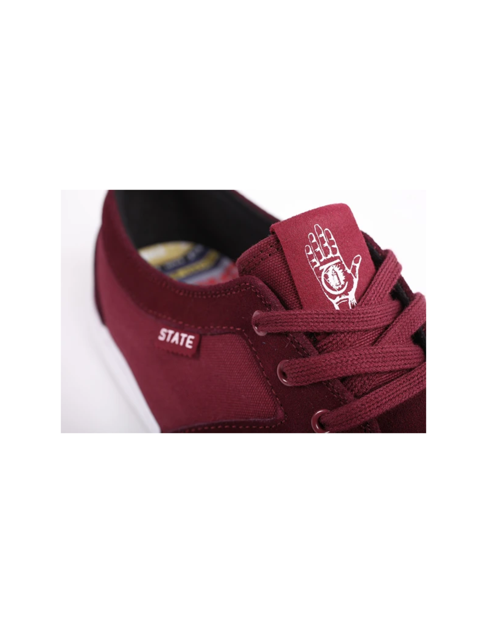 STATE FOOTWARE STATE FOOTWEAR X THEORIES BISHOP SHOE CHERRY