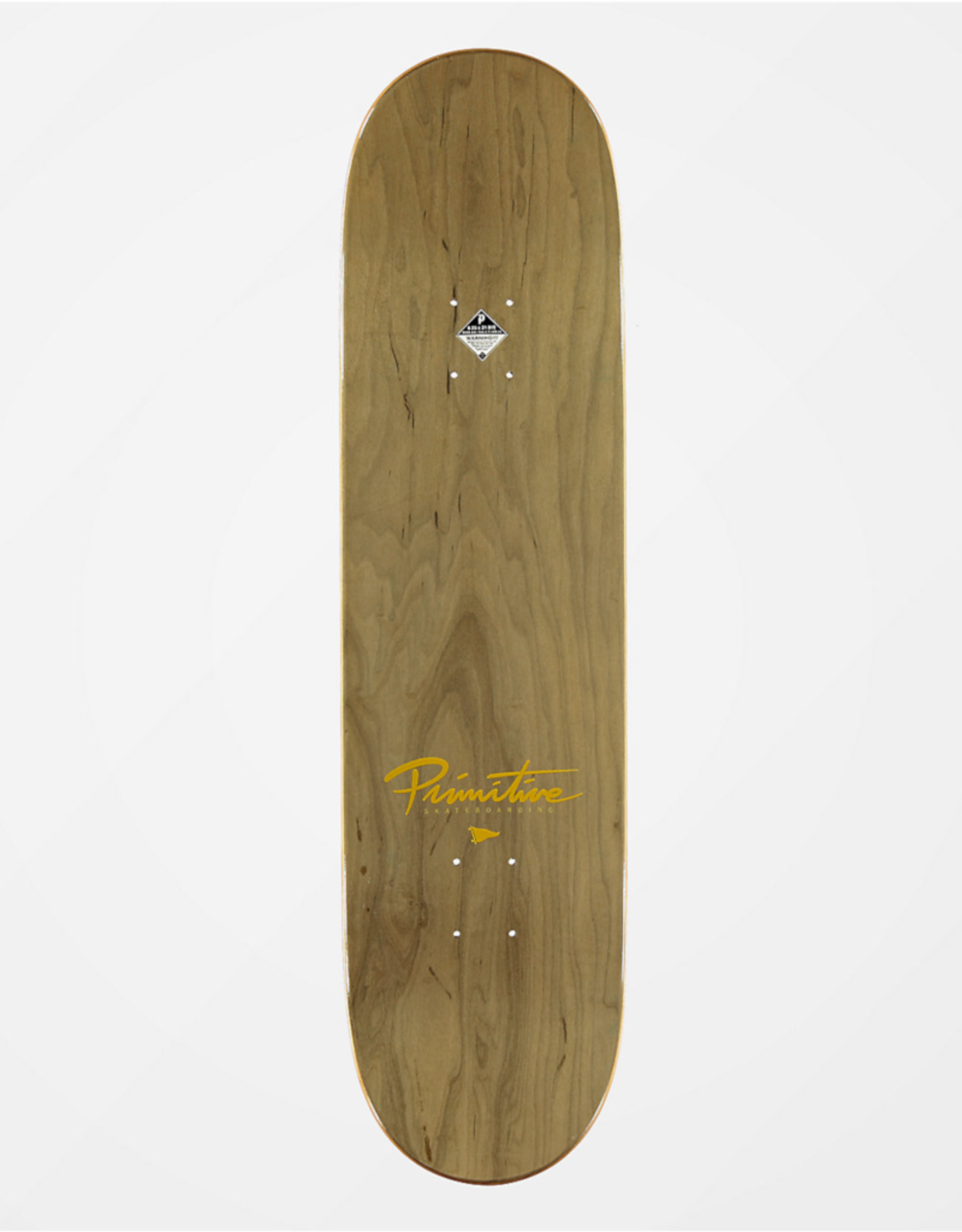 "PRIMITIVE Primitive Nuevo Script 7.3"" Skateboard Deck"