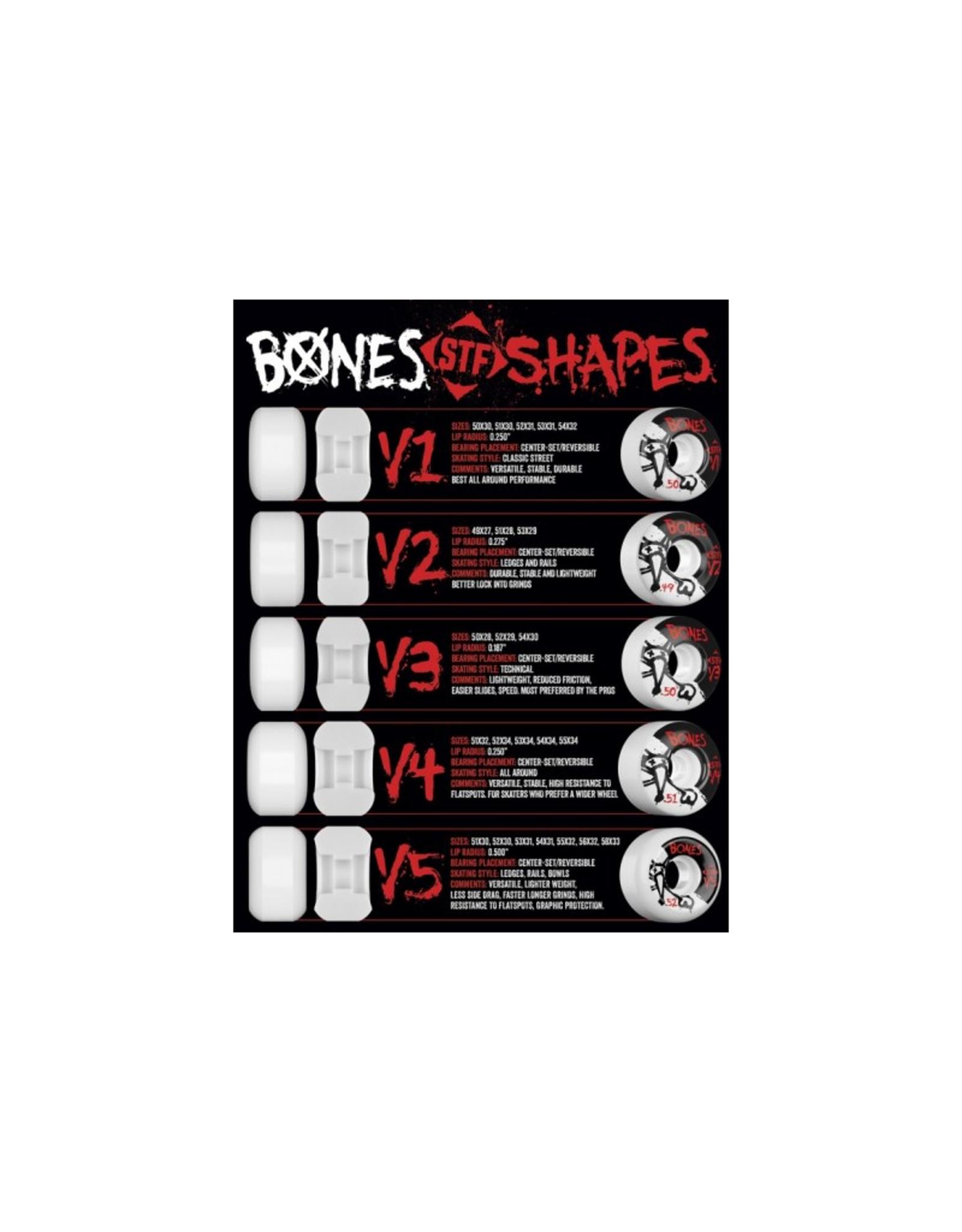 BONES BONES WHEELS STF PRO McClain Primal V6 99a - 4pk