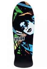 """Vision Skateboards VISION - ORIGINAL MARK GONZALES - BLACK 10.0"""" REISSUE SKATEBOARD DECK"""