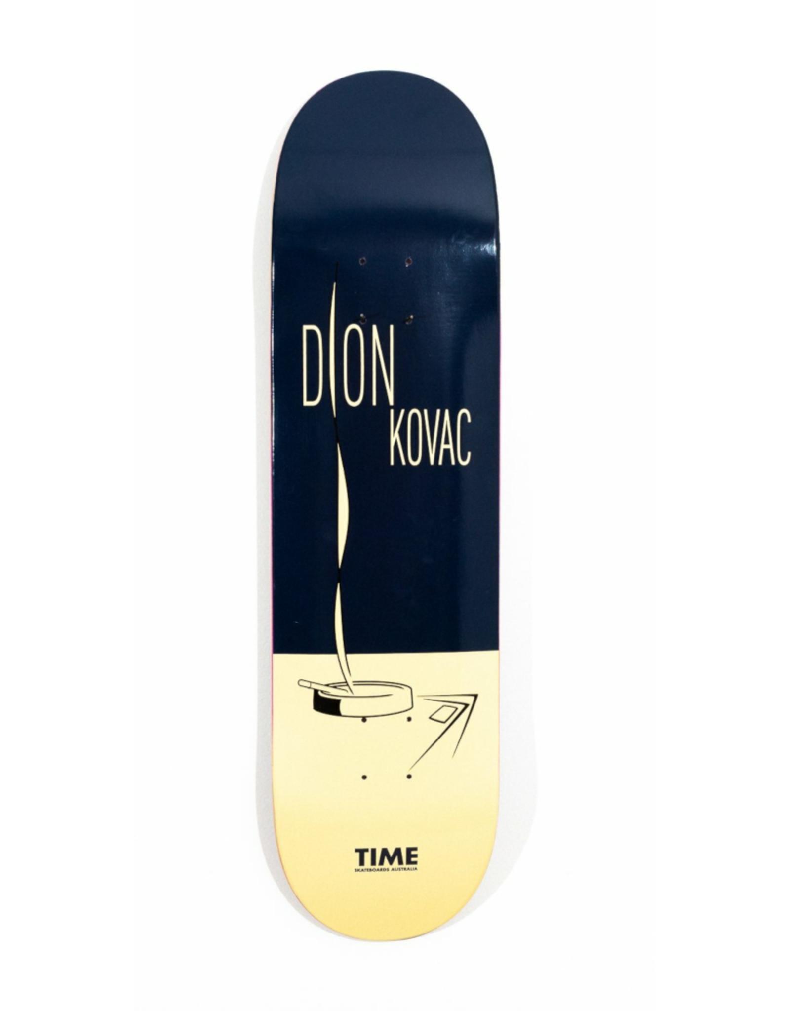 """TIME SKATEBOARDS Time Skateboards - DION KOVAC - TIERNEY SERIES - Football 8.25"""""""