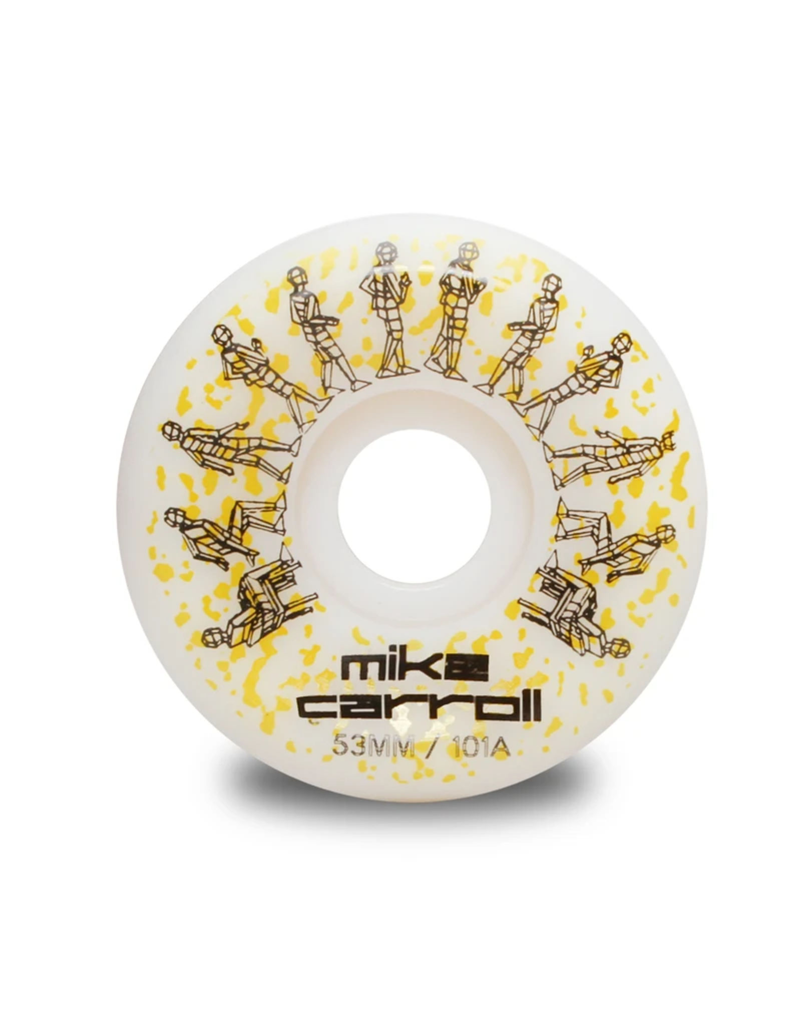 Wayward Wheels Wayward - Funnel Cut 101a - Mike Carroll PRO 53mm