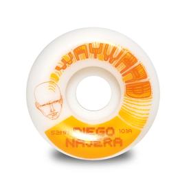 Wayward Wheels Wayward - Funnel Cut - Diego Najera PRO 52mm
