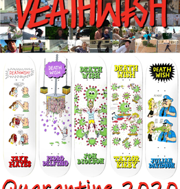 Deathwish Skateboards DEATHWISH- 2020 Quarantine PRO MODEL Decks